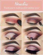 Lidschatten-Tutorial #eyeshadow #eyemakeup #AugenMake-upTipps #EyeMakeupTutorial… – Schönheit