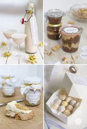 Geschenke aus der Küche, Rezepte und Free Printab…