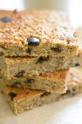 Mes carrés du petit-déjeuner (alias breakfast squares) en 2 recettes gourmande…