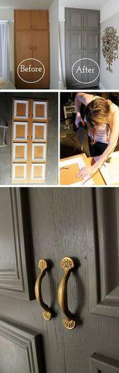 16 simple DIY door projects for stunning decor on a budget