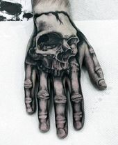 40 einzigartige Hand Tattoos für Männer – Manly Ink Design-Ideen