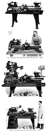 South Bend 9 24 Revised Early Vintage Lathes Parts Manual 1906 39 Ozark Tool Manuals Books South Bend Lathe South Bend Lathes