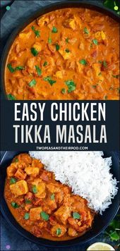Chicken In A Creamy Tomato Curry Sauce Is The Perfect Meal For Any Night Make Yo…