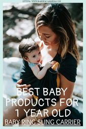 Baby Carrier Best Baby Products For 1 Year
