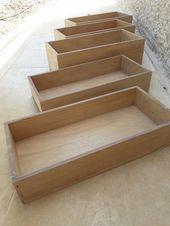 Wie man alte Schreibtischschubladen in großartige Pflanzgefäße verwandelt Hometalk – #old …