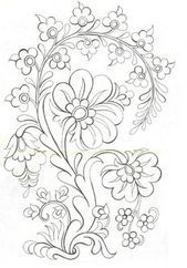 Pin By Elias Gomez On Motifs Of Flour Leaf Machine Embroidery Patterns Embroidery Designs Feather Stencil