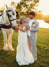 Barn wedding- dream wedding- horse and carriage- carriage