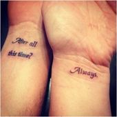 Cute small tattoos for married couples make your love blossom more   – Married Couples Tattoos