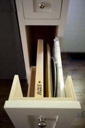 Kitchen Storage: A Cabinet for Cutting Boards