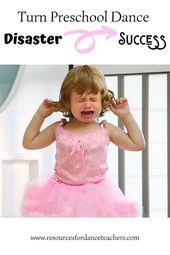 The Dreaded Preschool Dance Disaster And How To Avoid It Top 5 Tips For Preschool Dance Class Teach Dance Dance Teacher Tools Dance