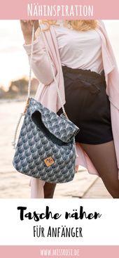 Einfache Tasche nähen mit Tillisy