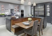 55 Ideen und Designs für funktionale und inspirierte Kücheninseln