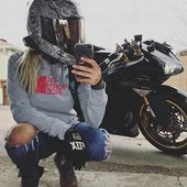 #AutoundMädchen-Motorräder und Frauen – #Motorräder #Frauen   – Ирина И…