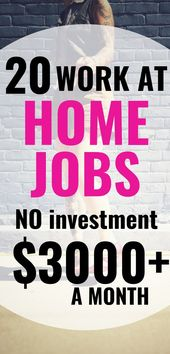 50 best work from home jobs that pay well in 2019 …