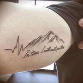 Herzschlag-Tattoos für Männer