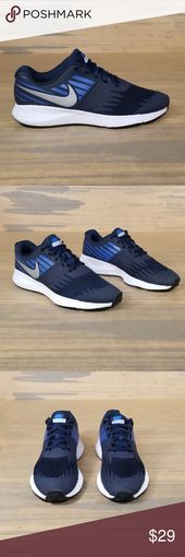 Nike Star Run GS Sneakers Nike Star Run GS Sneakers   *Size 7Y *Pre-owned *Item …