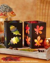 Pour les enfants créatifs: un bel automne coloré