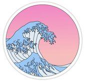 ombre wave Sticker – #macbook #Ombre #sticker #Wave – Draw