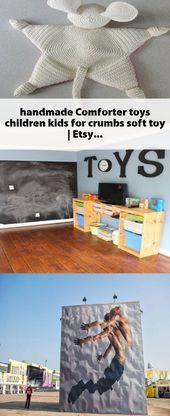 handgemachte tröster spielzeug kinder kinder für krümel stofftier   Etsy   – Toy