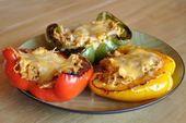 Fajita Chicken Stuffed Roasted Bell Peppers | Coach Breanne – Take Shape for Life