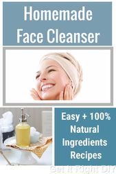 Your skin will be most happy when you use these 100% natural face cleansers