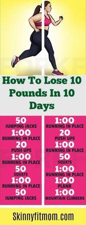 Wie man 10 Pfund in 10 Tagen verliert: 7 beste Gewichtsverlust-Tipps, die funktionieren