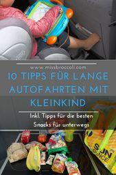 Die besten Tipps für lange Autofahrten mit kleinen Kindern