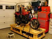 Cool Motorbike Workbench