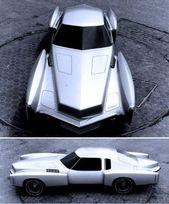 Oldsmobile Toronado Prototype, 1969. Eine Designstudie für das zweite … #des …   – Auto Design Ideen