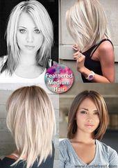 40 trendige mittlere Frisuren für Frauen aller Altersstufen