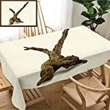 b3c7f80275c3 Skocici Unique Custom Design Cotton and Linen Blend Tablecloth A ...
