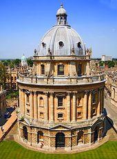 Biblioteca Cámara Radcliffe en Oxford | James Gibbs | 1737 | Rad Cam