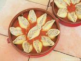 Conchiglioni farci de légumes   – recettes de pâtes
