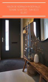 Malen Sie Gebrauch in der Halle, schöne Schatten – tun Sie es selbst  #gebrauch…