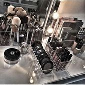 45 Brilliant Makeup Organizer and storage ideas for girls