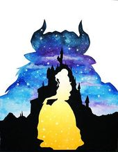 #Watercolor #Disney #Art #Watercolor #movies #filmes    – Disney Aquarela