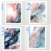Society 6 prints. 3 verticals for above couch? – #…