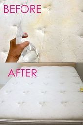 So reinigen Sie Matratzenflecken (10 Minuten Magic Green Reinigung!), #Green #Magic #Matratz