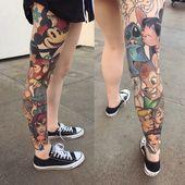 50 Disney Tattoos für diese, die nicht Erwachsen werden wollen – Haus Dekoration Mehr