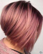 Trend Haarfarben für kurze Haare für Damen 2019 – #Farben #Haar #Farbe #Sch … – #Damen #