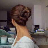 #favourite #updo #hairtutorial #bun #braiding #hairstyles #braids #bun - Spitze