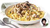Carbonara aux champignons Josée di Stasio   – Recettes à cuisiner