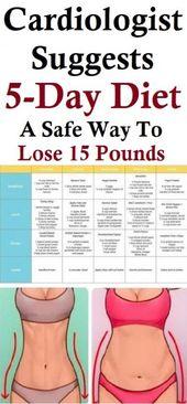 Kardiologe empfiehlt 5-Tage-Diät: Ein sicherer Weg, um 15 Pfund zu verlieren