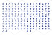 180 Science and Technology Icons , #affiliate, #AI#Perfect#Pixel#EPS #Ad