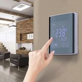 LED Programmable Underfloor Heating Thermostat Room Temperature Controller