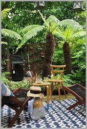 ❤25 Tropical Garden Design Ideas – Have A Holiday Resort Right At Home To Make…   – Garden Ideas