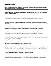 A critcal lens essay