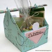 Anleitung zum Erstellen von / Tutorial / Toolkit / Geschenken   – DIY – Geschenke verpacken
