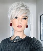 "🖤 ​​Welcome to my page 🖤 on Instagram: ""🖤 Katrin Berndt 🖤. . . #stylingidee #newhaircuts #short hairstyle #short haircut"