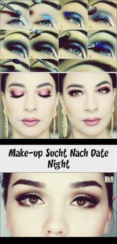 Make-up Sucht Nach Date Night
